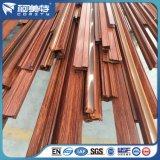 Perfil de alumínio Trsanfer de madeira para indústria de porta de janelas