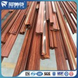 Grano de madera Trsanfer perfil de aluminio para la industria de la puerta de la ventana