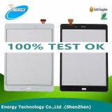 Contact initial de tablette pour la languette de galaxie de Samsung 9.7 un panneau en verre de réparation de remplacement de convertisseur analogique/numérique d'écran tactile de Sm-T550 T550 T551 T555