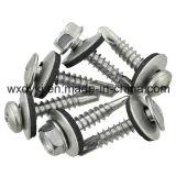 Acier inoxydable 304 316 rondelles de cachetage métallisées d'EPDM