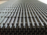 Rejas de FRP Pultruded, rejas de la seguridad de la extrusión por estirado, reja de la barra de Fiberglass/GRP