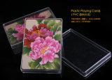 Карточки PVC конструкции 100% цветка новые пластичные играя