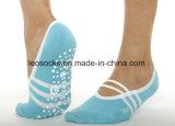 Baumwolldame-Antibeleg-Tanz-Frauen-Yoga Pilates Socken