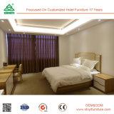 Gaveta Nightstand da madeira 2 da cinza da mobília do quarto do hotel