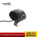 Indicatore luminoso fuori strada del lavoro di pollice LED dell'indicatore luminoso 24watt 5.5