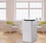 Deslumidificador de banheiro de 10L / dia com tela de toque e função de purificação de ar