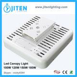 Lumière extérieure du support IP65 DEL de surface d'appareils d'éclairage de station-service de la lumière 150W d'écran de DEL