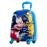 Rad-Koffer der Karikatur-4 für Kinder drehte die Kinder, die Gepäck rollen
