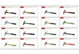 Американский тип молоток с раздвоенным хвостом с пластичным высоким качеством ручки