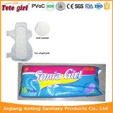 Signora asciutta assorbente igienico, tovaglioli sanitari della superficie della maglia delle donne