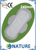 290mmの綿の表面の使い捨て可能な超薄い衛生パッド