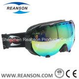 Reanson Professional Frameless Anti-Fog Double lentilles sphériques Ski Snow Mobile Goggles