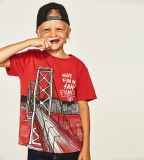 Custom Wholesale Boy's Printed Competitive T Shirt with Price