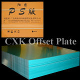 Placa de alumínio de Offste do revestimento verde e o outro material da impressão