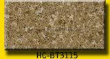 Cor de várias bancadas de quartzo com textura de mármore da natureza
