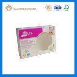 Caja de embalaje de empaquetado impresa del papel de la ventana del rectángulo del ratón (con el orificio colgante cortado con tintas)