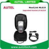 De Lezer Autolink Al619 van de Code van het Hulpmiddel van het Aftasten van de Diagnostiek van de Auto van Maxilink Ml619 van Autel OBD2
