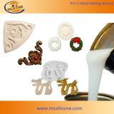 蝋燭(RTV2030)の樹脂、ギプス、セメントおよびワックスのためのRTV2シリコーンゴム