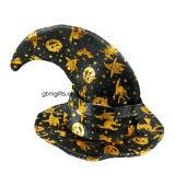 Изготовленный на заказ цветастые крышка Halloween/шлемы Haedwear Halloween