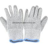 Высокомарочные специальные перчатка ранга 3 безопасности Резать-Упорная защитная работая