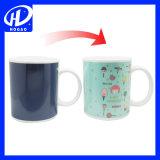 Tasse de changement de couleur magique de sublimation de café en céramique
