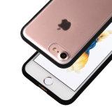 C&T cancelam o caso abundante traseiro da tampa da absorção de choque do projeto da caixa TPU do telefone de pilha do painel do PC duro para o iPhone 7