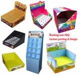 Изготовленный на заказ напечатанная цветом коробка упаковки игрушки упаковывая складывая Corrugated с окном
