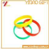 Wristband variopinto su ordinazione all'ingrosso del braccialetto del silicone per la promozione