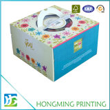 Custom Pastel de embalaje Caja de cartón ondulado