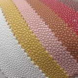 Cuoio del PVC del grano del ciottolo per la fabbricazione del Bags della signora
