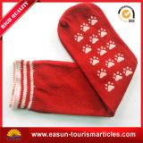 Hotel-Socken mit des $-Abnehmers der roten Farbe Firmenzeichen