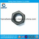 ASTM A193 2h Tuercas hexagonales pesadas con superficie negra