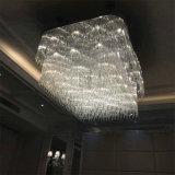 Lampadario a bracci decorativo dell'a cristallo di progetto dell'hotel bianco moderno di modo