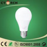 Alta aprobación de RoHS del Ce del bulbo de la iluminación E27/B22 LED del lumen de Ctorch 9W