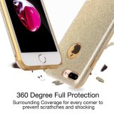 Luxo Bling Hybrid Armor Slim Drop Proteção Back Cover Shinning Claro TPU Bumper Bling Crystal Glitter Case para iPhone 7
