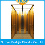Levage Ti-Plaqué d'ascenseur de villa de Fushijia d'acier inoxydable de délié
