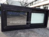 Woodwin Fabrik-Preis-Doppelt-ausgeglichenes Glas-schiebendes Aluminiumfenster