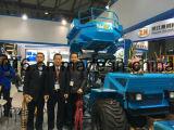 パーム油のフルーツを収穫するための新しいデザイン農業トラクター