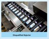 Inspeção de luz de alta velocidade e Inserção de garrafa a bandeja