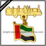 Pin su ordinazione del risvolto del metallo di qualità per il regalo promozionale (BYH-11023)