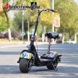 2017 Nuevo modelo de scooter eléctrico grande y amplia de las ruedas Tubeless