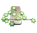 Producto de limpieza de discos impreso aduana de la pantalla del teléfono celular de Microfiber