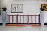 Balcon en acier galvanisé décoratif de haute qualité 24 de clôture d'alliage de Haohan Alluminum