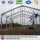 プレハブの低価格の構造スチールの農業の農場の倉庫