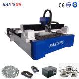 tagliatrice del laser della fibra 1000W per acciaio inossidabile ed il acciaio al carbonio