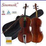 Violoncelo diferente dos tamanhos do melhor profissional do violoncelo