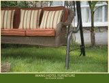 Oscillazione esterna del giardino della mobilia per la mobilia di vimini del giardino dell'oscillazione del rattan