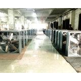 온실에 있는 옥외 냉각 환기 시스템 배기 엔진