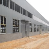 Structure métallique de modèle professionnel de bonne qualité pour l'atelier et l'entrepôt