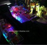 Balde De Gelo Iluminado De LED Rechrgeable Com Pega